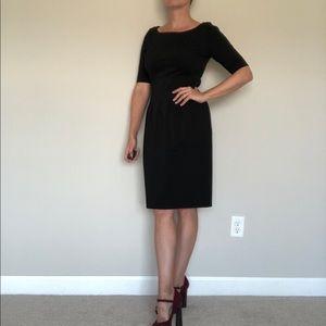 Pink Tartan black dress (M)